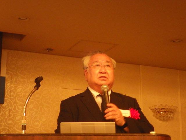 ■講演会:日本診断設計㈱長谷川様より「御影石がボロボロに!?建材用花崗岩の劣化について」と題して、講演をしていただきました。