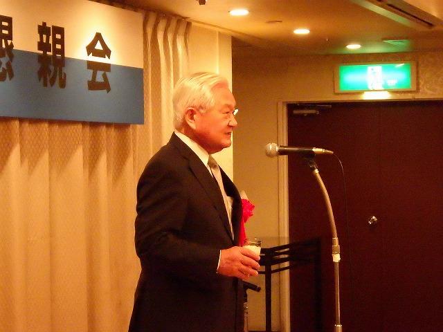■懇親会:林会長の挨拶に始まり、乾杯の音頭は佐藤建築事務所 佐藤様にお願いいたしました。歓談の後、㈱ニック 山田副会長による中締め、散会となりました。